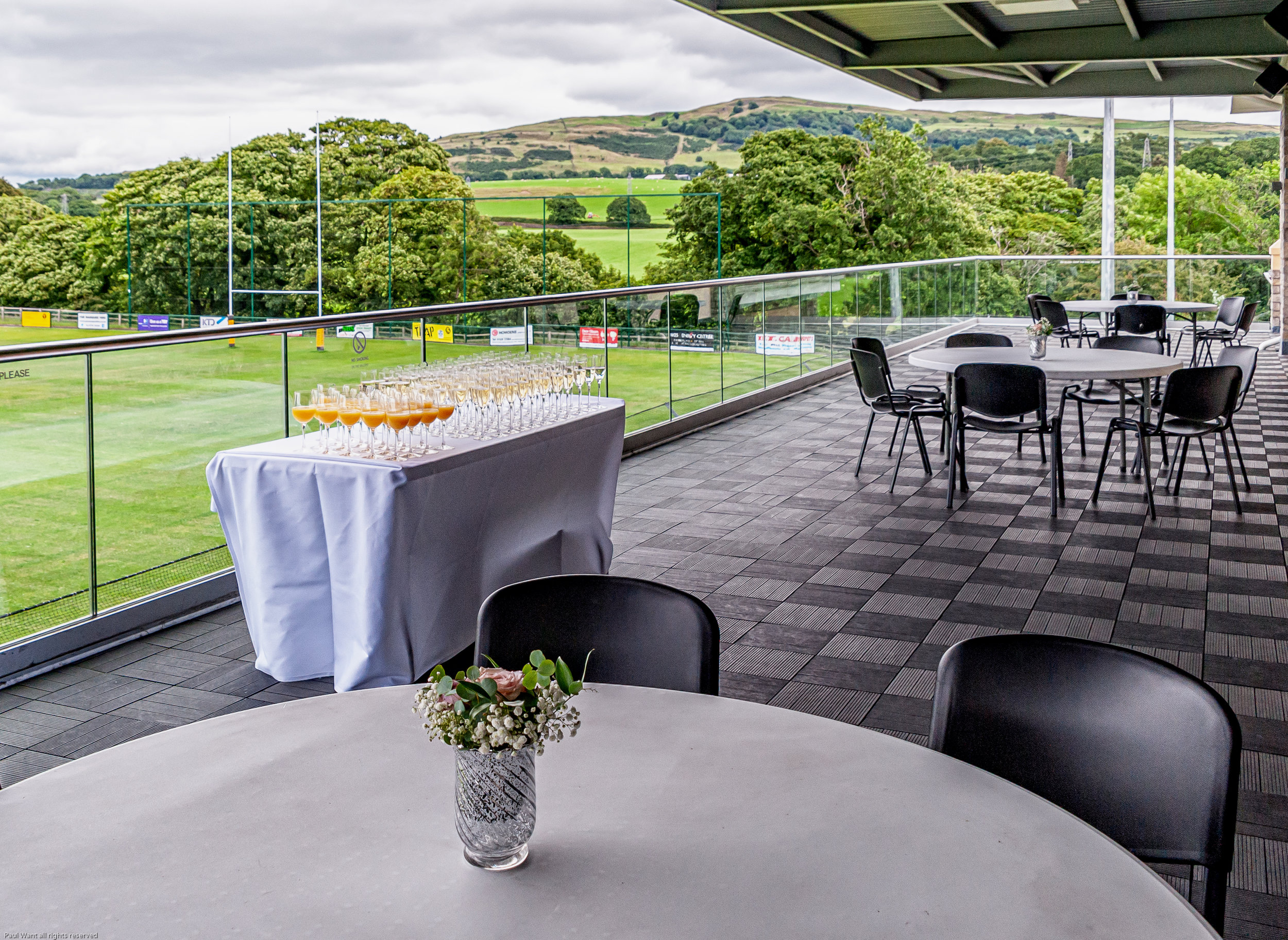 The best balcony in town - Both our Kentdale Suite and Lounge Bar enjoy direct access to our spectacular, large covered balcony - it's particularly special for summer evening drinks!