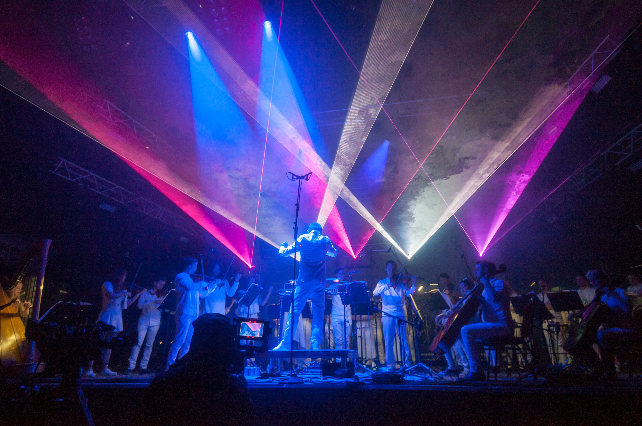 Charles Hazlewood, Philip Glass Heroes Symphony, Credit Lily Holman