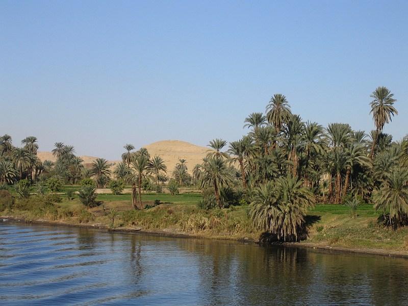 Bildet viser Nilen og er hentet fra Wikipedia.