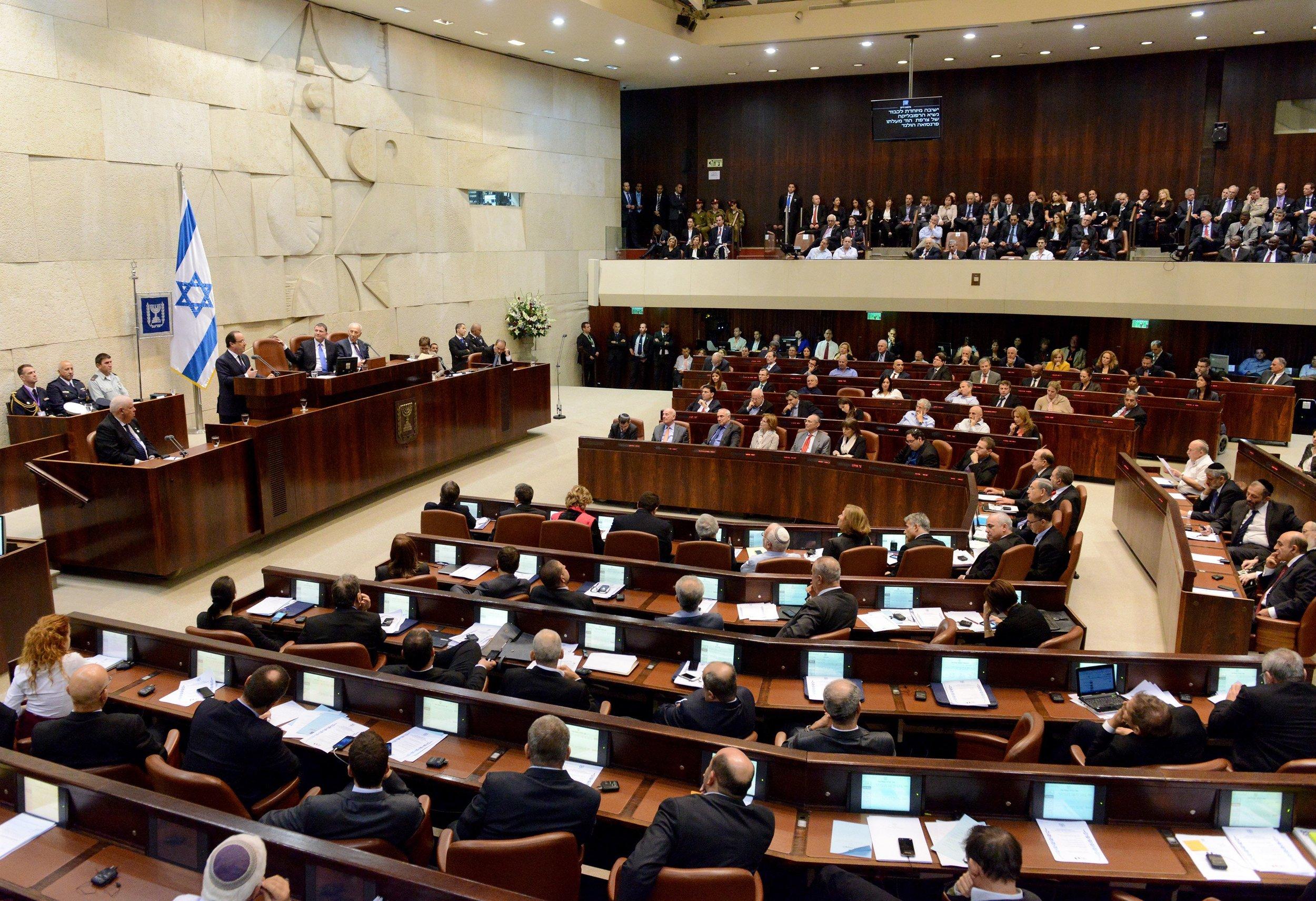 Bildet viser Knesset og er hentet fra Unplash og tatt av  Rafael Nir