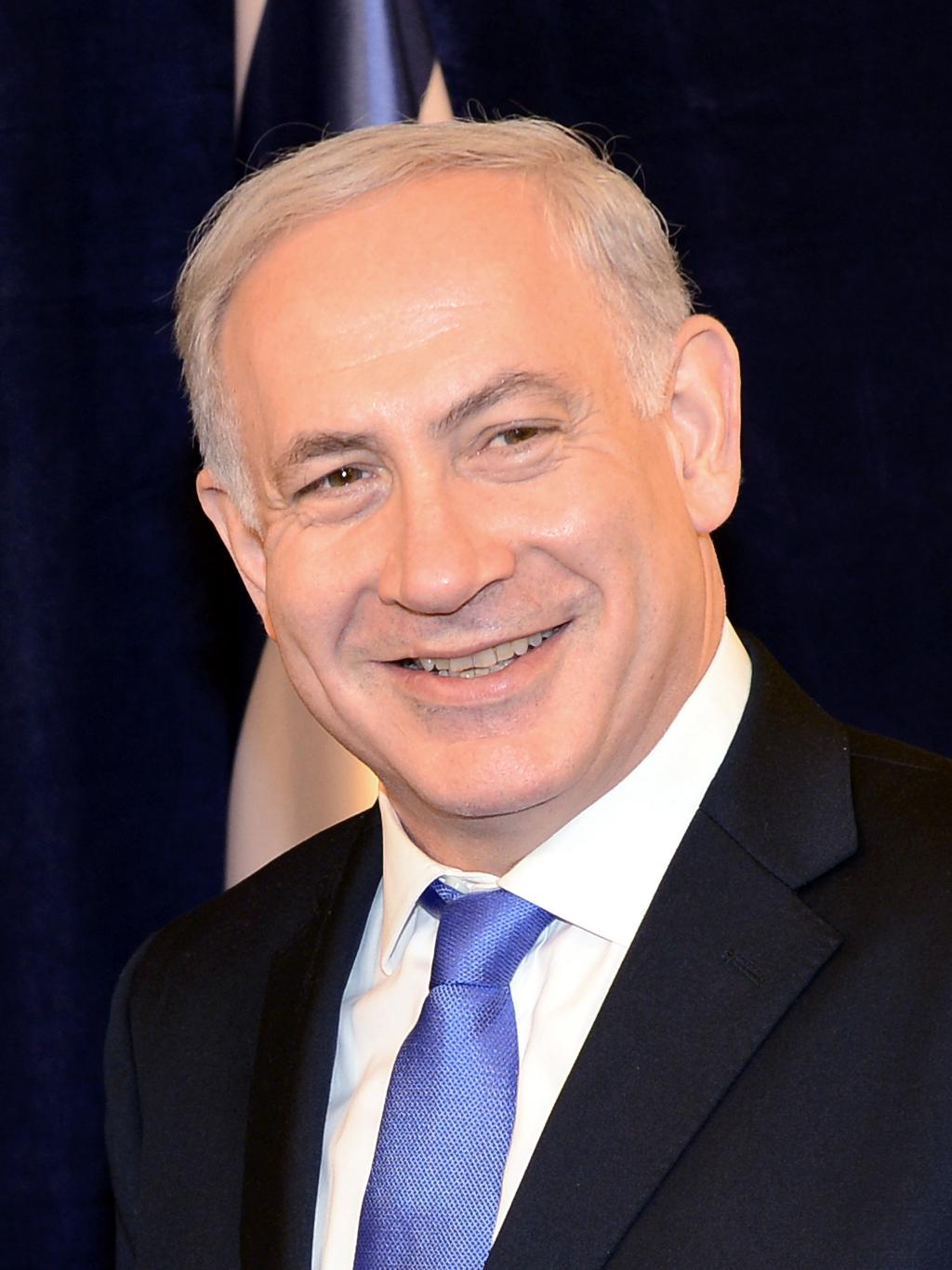 Benjamin Netanyahu. Bildet er hentet fra WikiMediaCommons