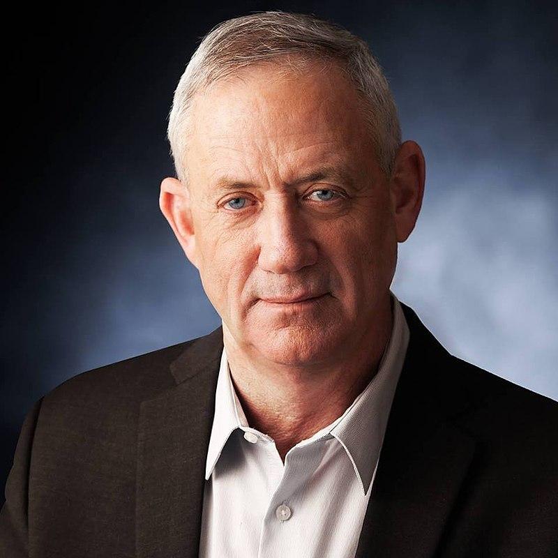 Tidligere øverstkommanderende i den israelske hæren Benny Ganz.