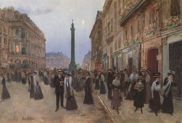 - Figure 2Rue de la Paix, 1906Jean Beraud (French, 1849-1935)Oil on canvas