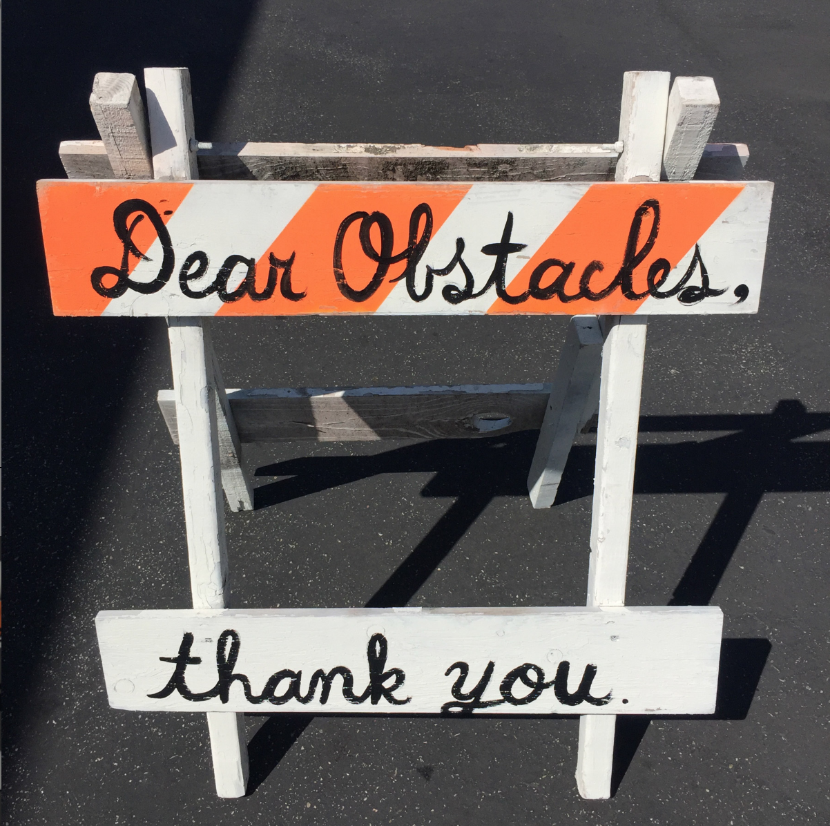 Dear Obstacles   by  Rohitash Rao, 2017