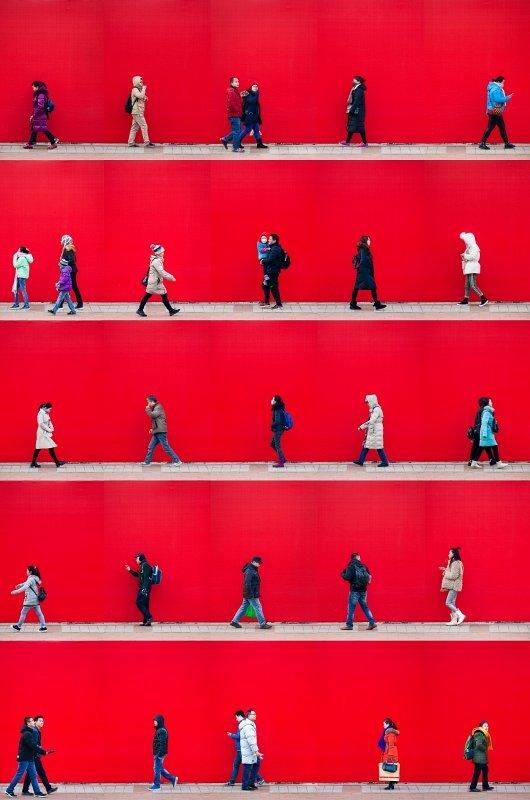 Time Lapse. Beijing     by Xan Padron, 2018