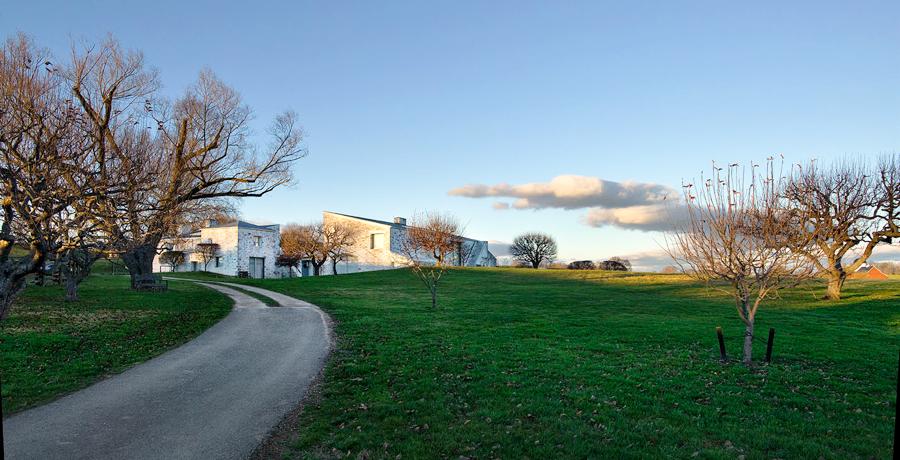 View of Oak Spring Garden Library.  © Oak Spring Garden Foundation