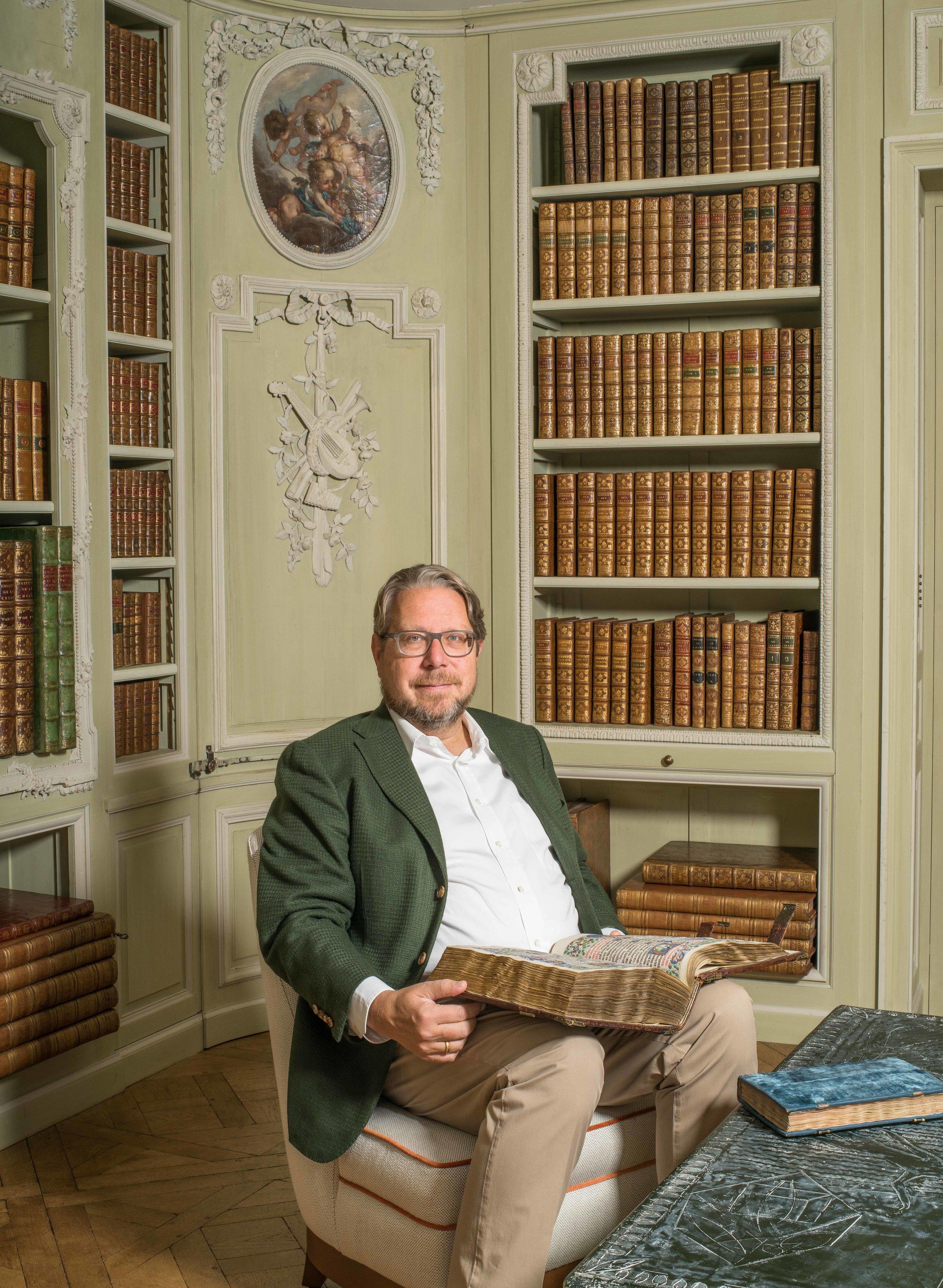Dr. Jörn Günther,  Photo credit:  Spencer W. Stuart , 2018.