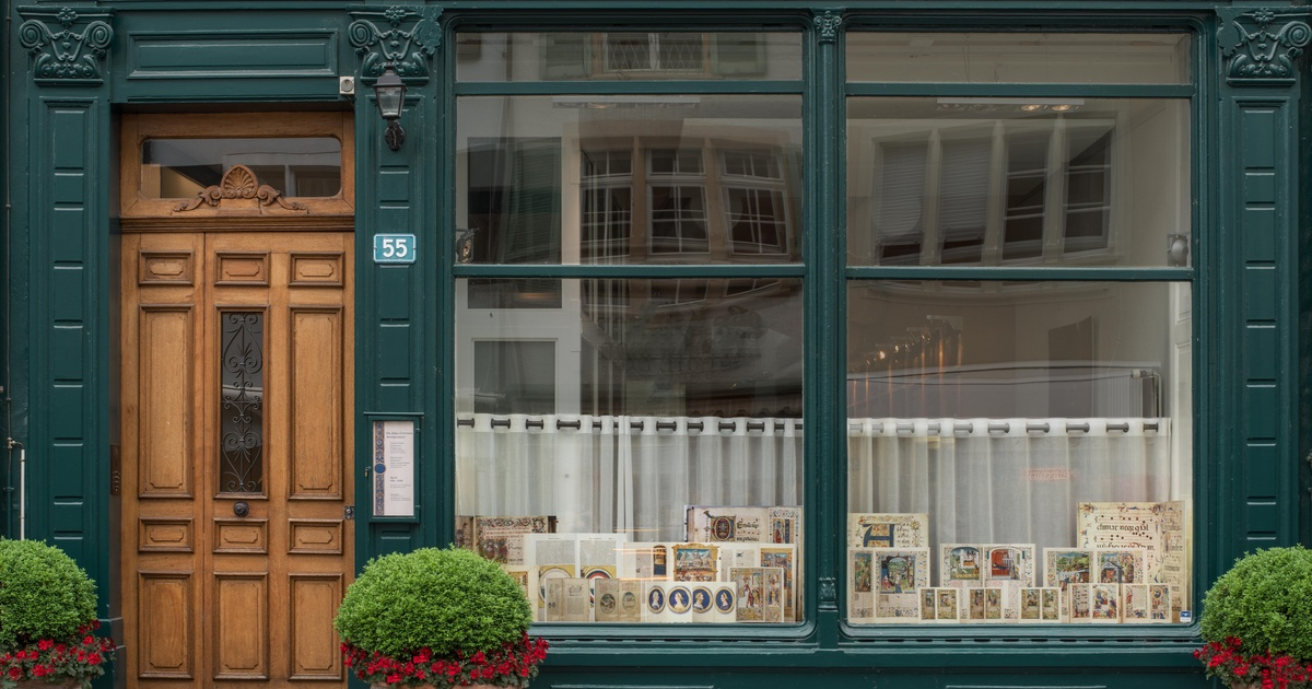 Dr. Jörn Günther Rare Books gallery located in the heart of medieval Basel, Photo Credit:  Dr. Jörn Günther Rare Books .