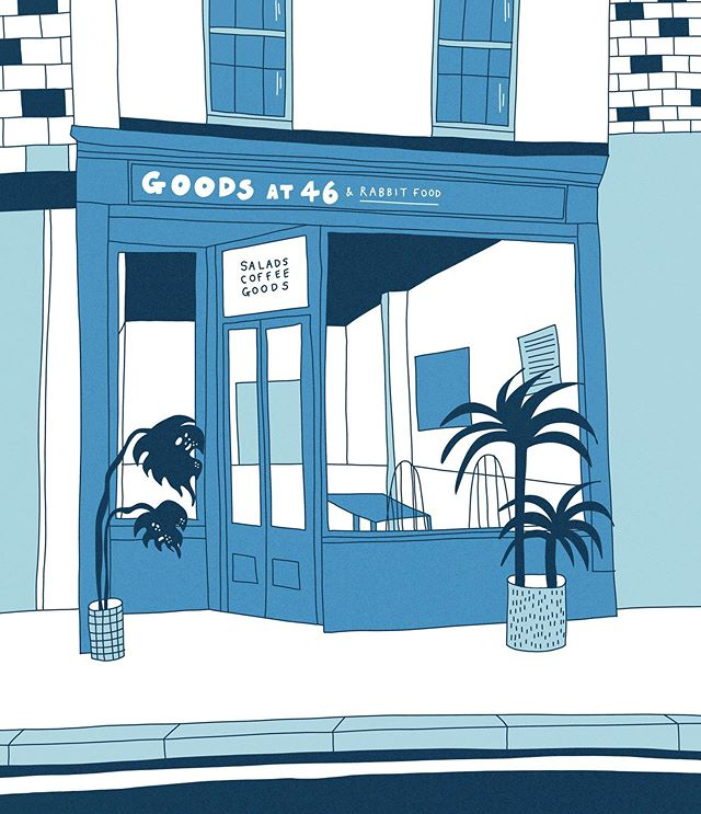 With all the amazing events going on in Bristol over the summer we will now be open Monday-Friday, 8:30 until 4:00. See you at Harbour Fest ✌🏻 Lit illustration by @miaclenthall for our store @goodsfortysix which is now on the worldwide web, link in its bio.