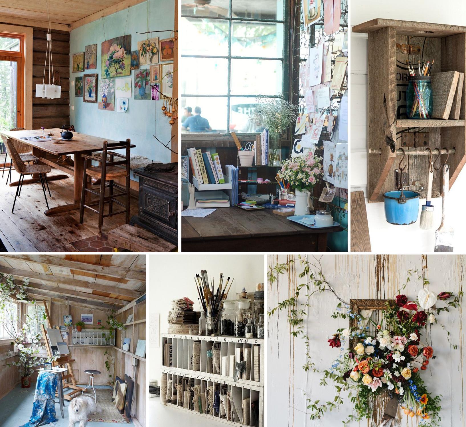 My New Cabin Studio Inspiration Board