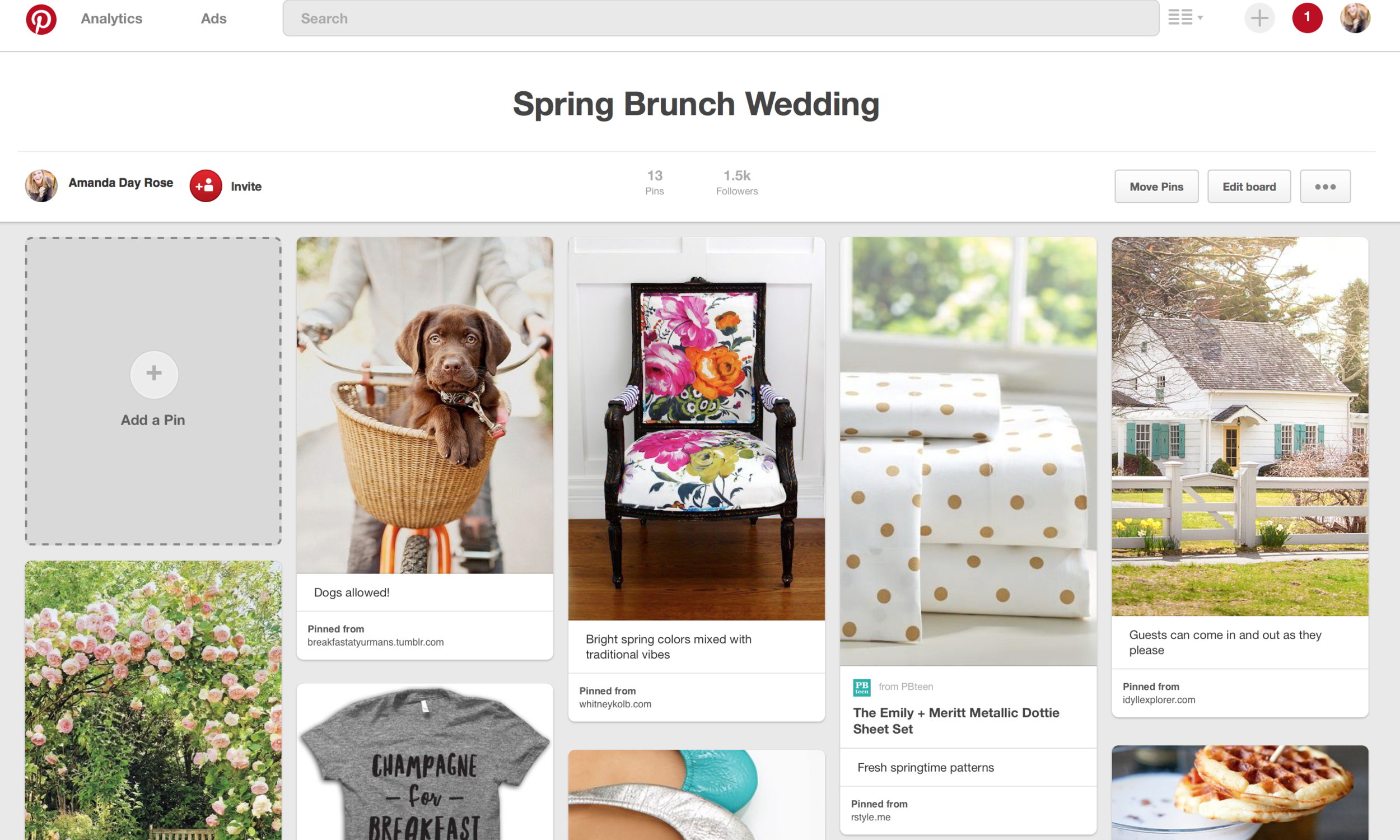 The ONE Way You Should Be Using Pinterest for Wedding Inspiration