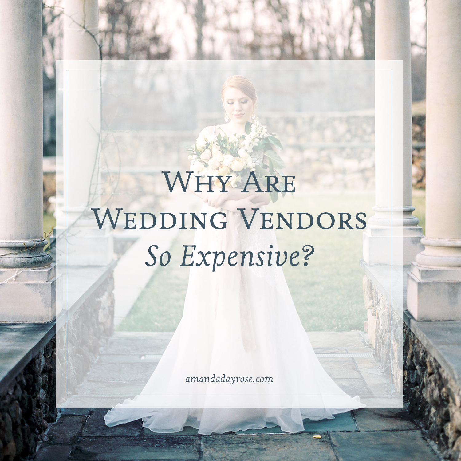 Why Are Wedding Vendors So Expensive?