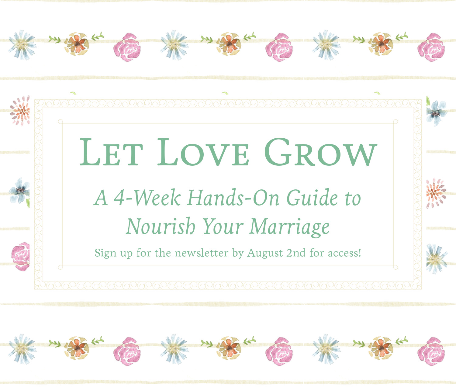 Let Love Grow: Gardening & Marriage