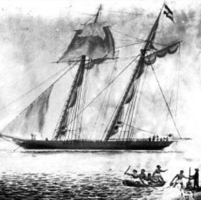 The Slave Trade Ship: AMISTAD