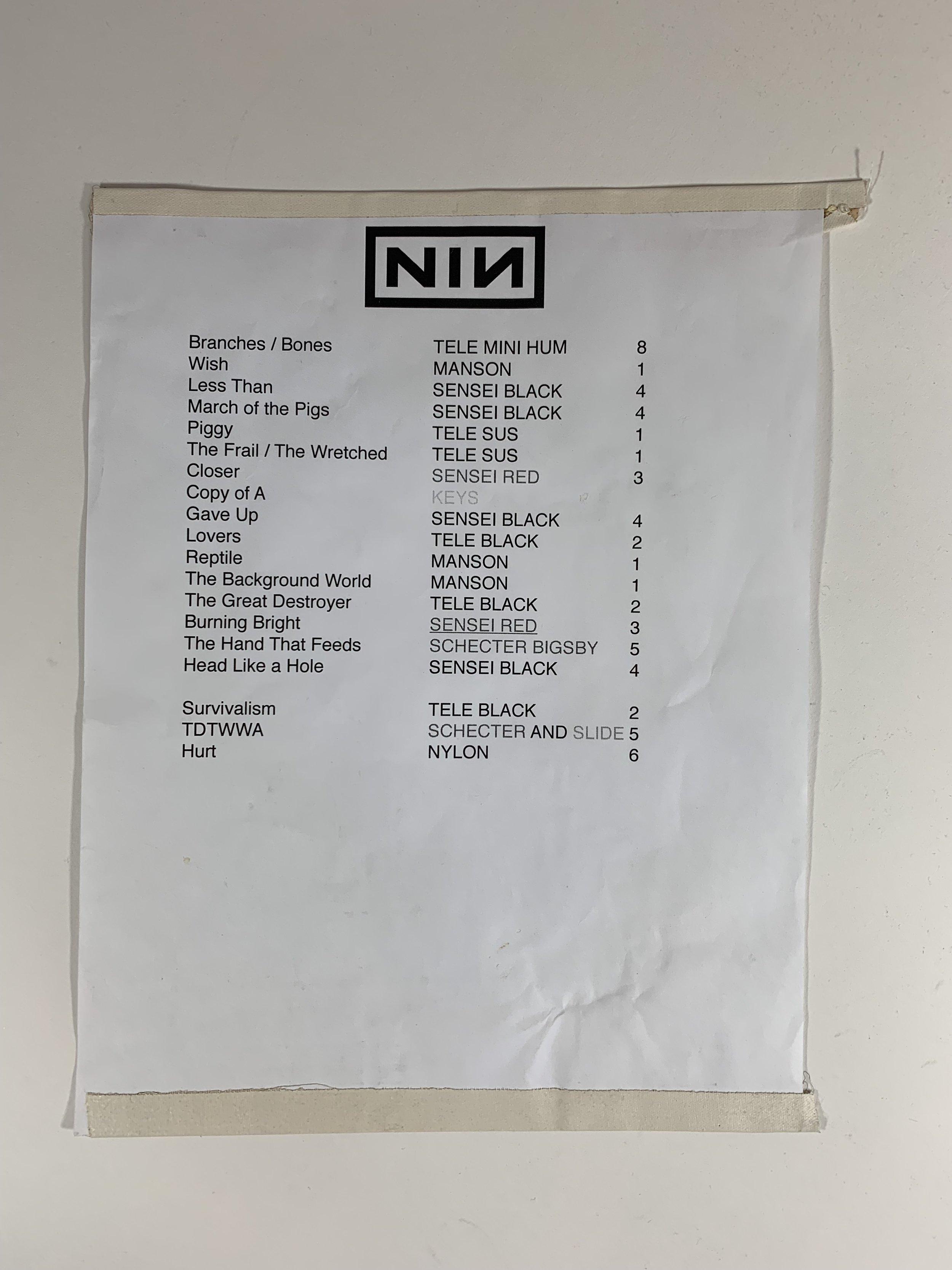Nine Inch Nails | Houston, TX | 2/16/17