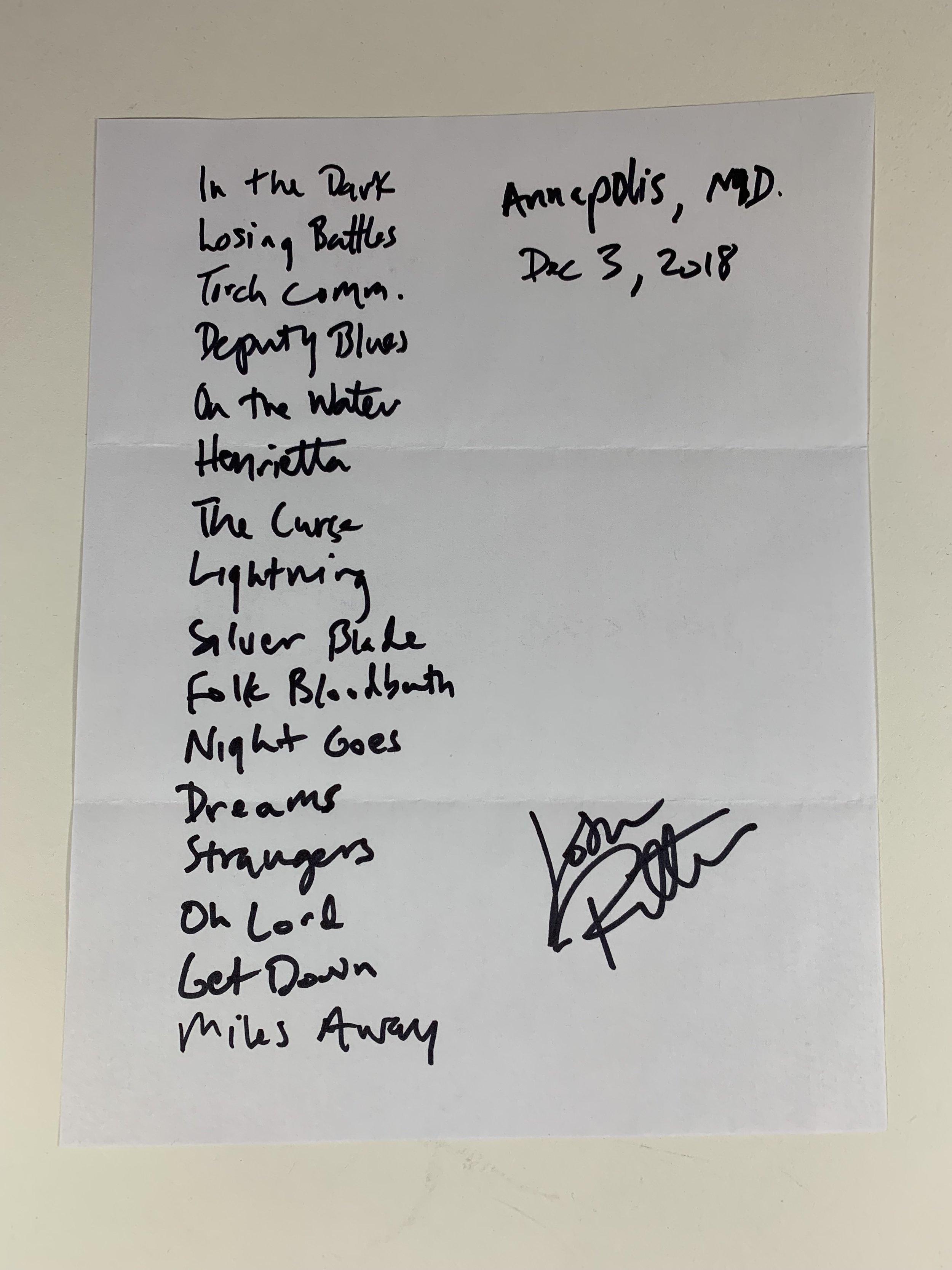 Josh Ritter | Annapolis, MD | 12/3/18