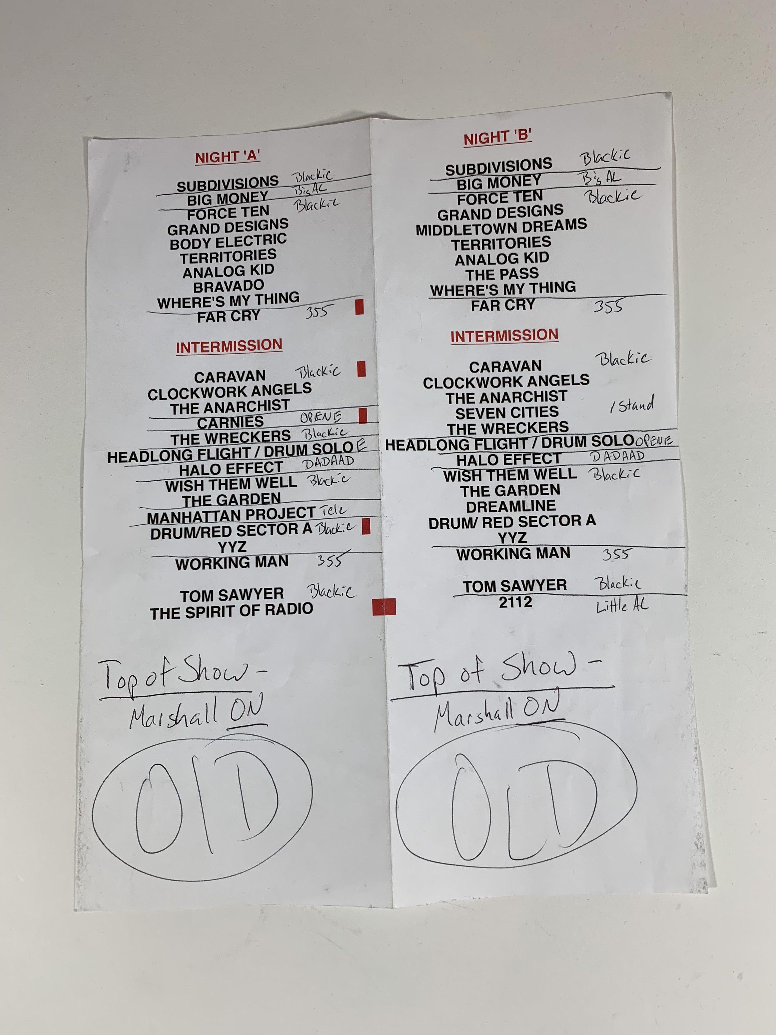 Rush | Clockwork Angels Tour | 2013
