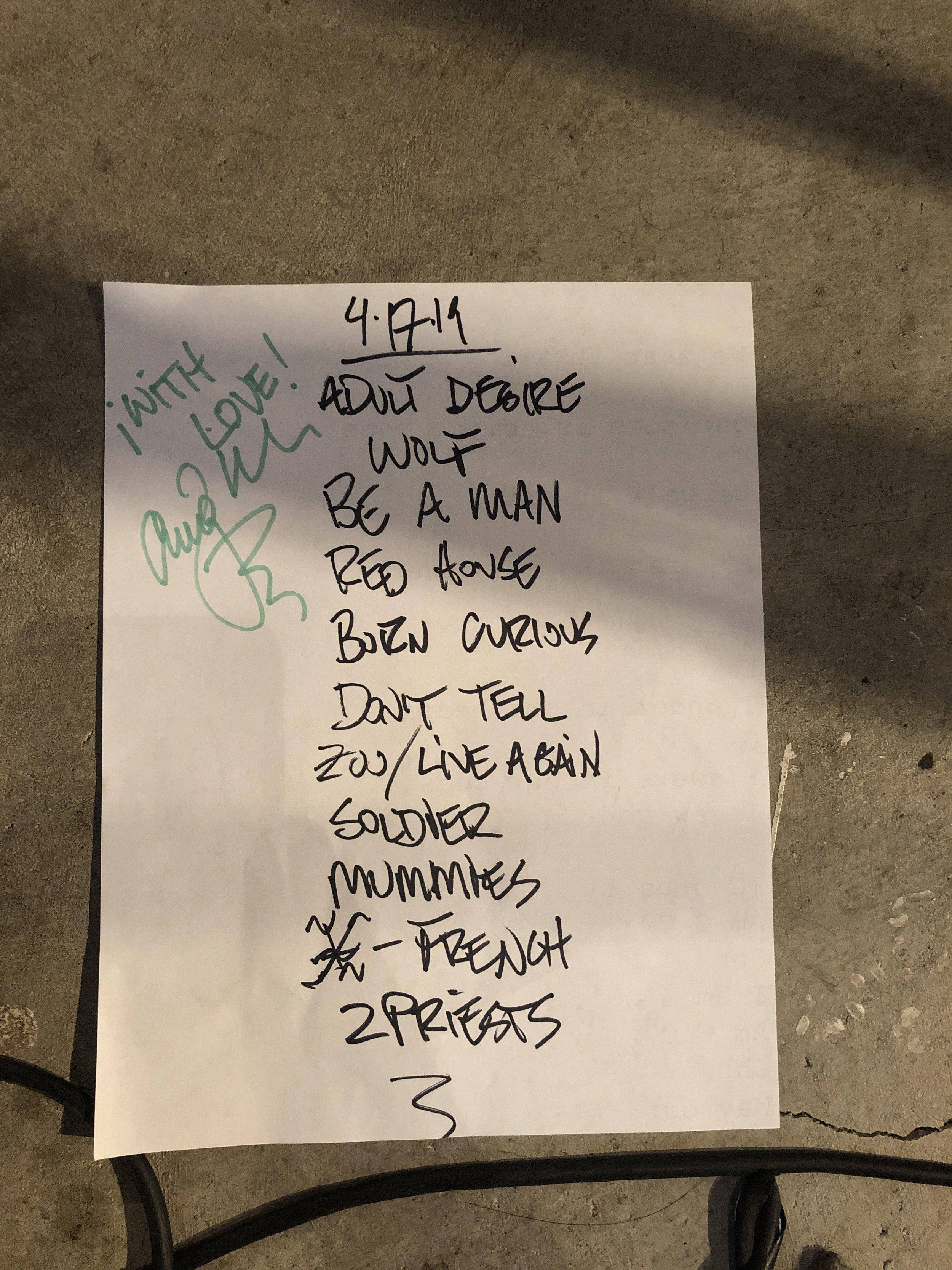 Craig Wedren | Zebulon, LA | 4/17/19