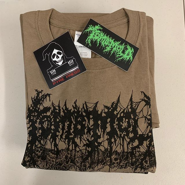🚨 WEBSTORE UPDATE 🚨 Thanks to everyone that has pre-ordered from the Tomb Mold webstore. The response has been great. Planning on getting everyone's order shipped during the 2nd week of September after we return from Killtown Deathfest (shipping notifications will be automatically sent as they go out). Please also direct questions /concerns regarding your order through the appropriate medium (not the comments section of this or other posts and/or DMs). Thanks for the continued support and patience!!