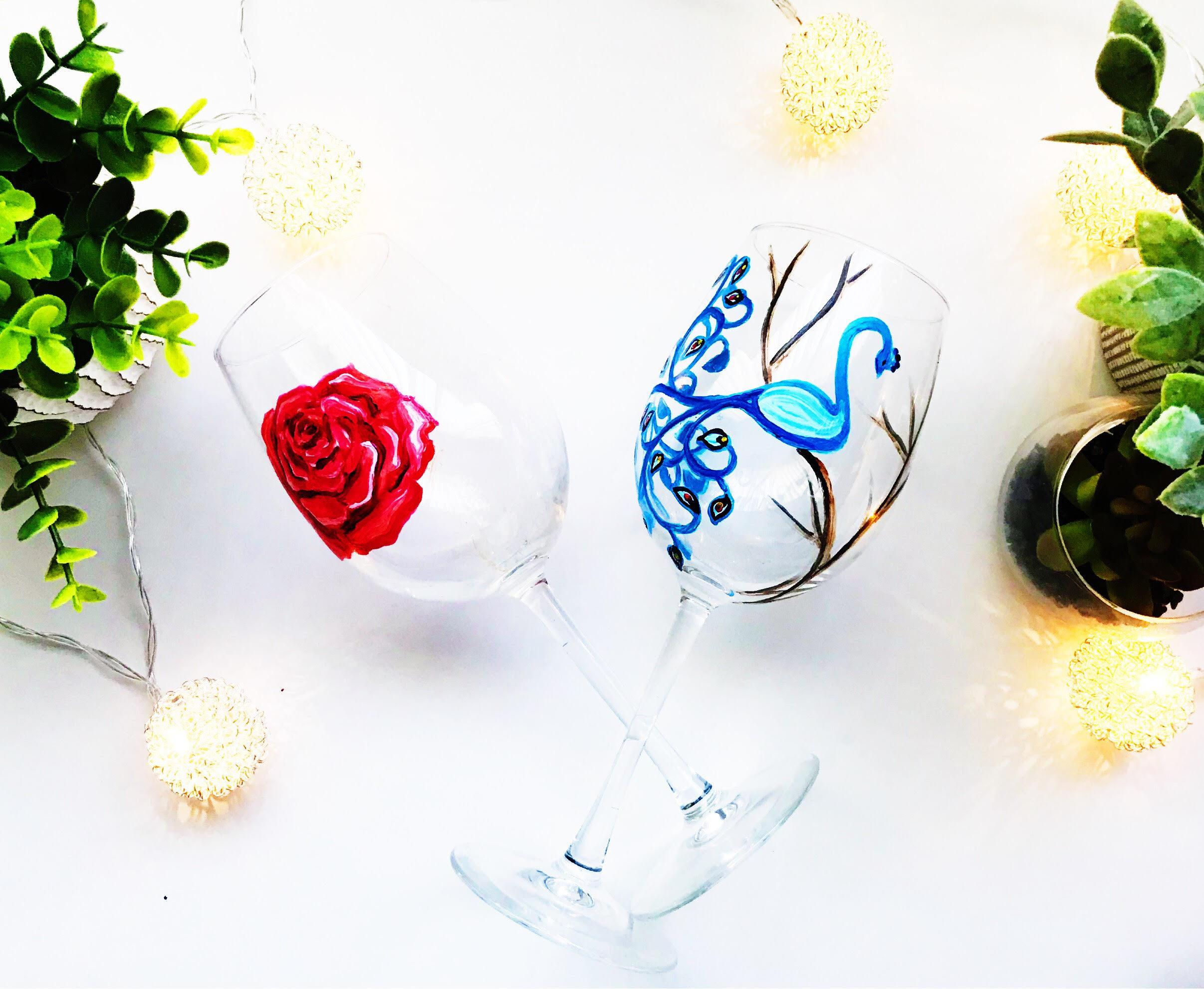 Wine Glass Painting Classs