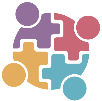 Circle SINGLE puzzle piece people clear.png