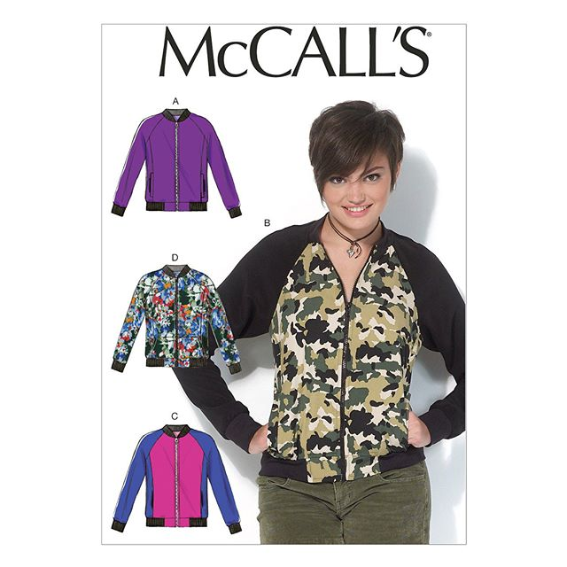 Thanks to everyone who suggested #bomberjacket patterns, here's a roundup in case anyone else's interested: #mccalls7100 was by far the most popular pattern  #mccalls7637 is a unisex pattern @jalie_patterns offers the #charliebomberjacket  @sewalittleseam has the #olliebomberjacket, both for kids and adults @dpstudio_fashion offers two pretty stunning versions  As for me, I think for once I'll try to not be wasteful and use what I already have, so I'll make a toile of the @lamiaboutiqueitalia pattern and I'll take it from there 😎