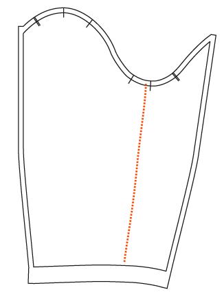 How I modified the sleeve
