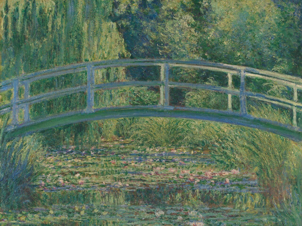 Claude Monet,  The Water-Lily Pond  (1899), The National Gallery
