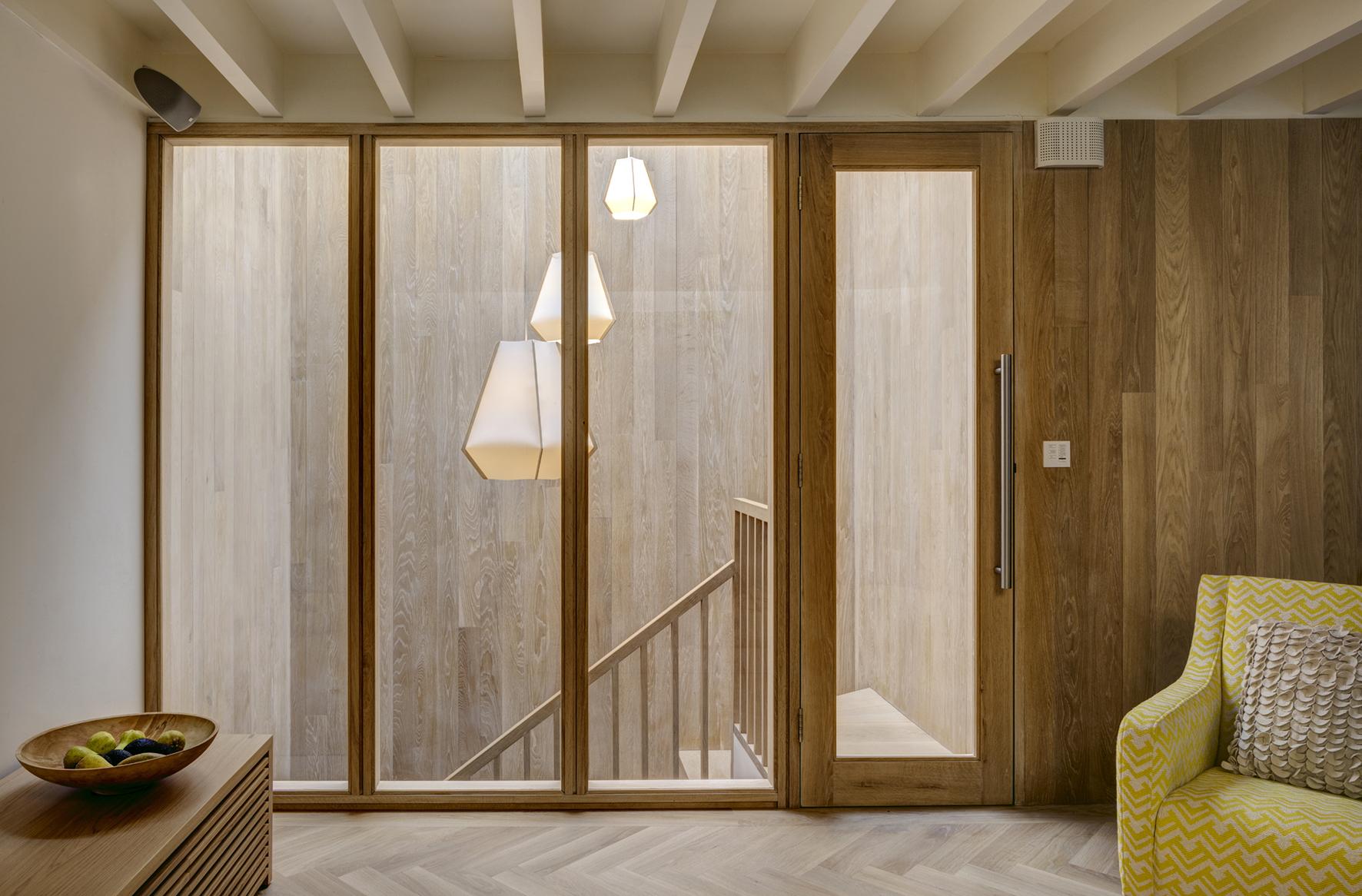 Den looking inot stair and lightwell credit Alan Parker.jpg