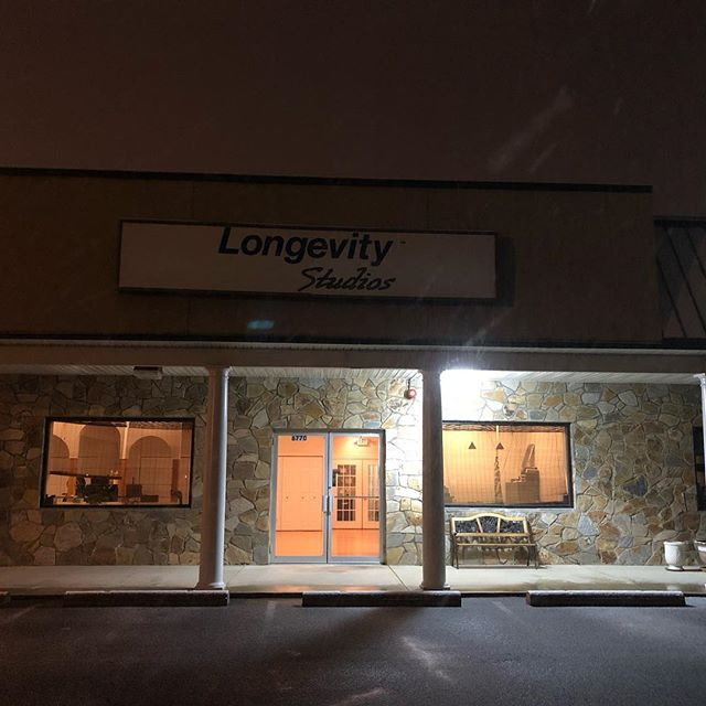 Currently we are open. As the storm progresses, we will re-assess this status. Be safe! #longevitystudios #stillopen