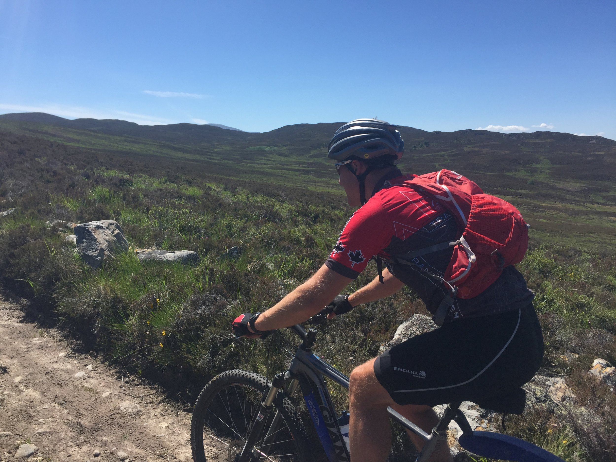 Biking - It's a playground! Kingussie lies at the heart of a network of off-road trails and quiet minor roads. Sustrans Route 7 runs through the town. For on and off-road routes and to join Tuesday night ride outs check out Cycle Friendly Kingussie. Detailed local mountain bike routes can be found at MTBTrails.info and you may want to download TRAILFORKS app. We are keen cyclists and will be happy to introduce you local routes. Download the Kingussie cycling map here. If you fancy some cycling tuition/guided rides we recommend Dave at School of Mountainbiking.Should you have enough energy left you can head north to explore the cycling around Aviemore, Boat of Garten/Carrbridge and Granton on Spey. For trail centres head south to Laggan Wolftrax or north to Bike Glenlivet.