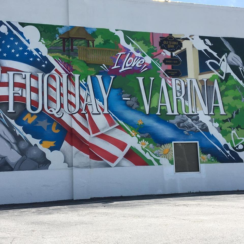 The  Mural Shop  is North Carolina's premier mural studio, specializing in the painting, installation, and restoration of large-scale murals, signs and graphics.