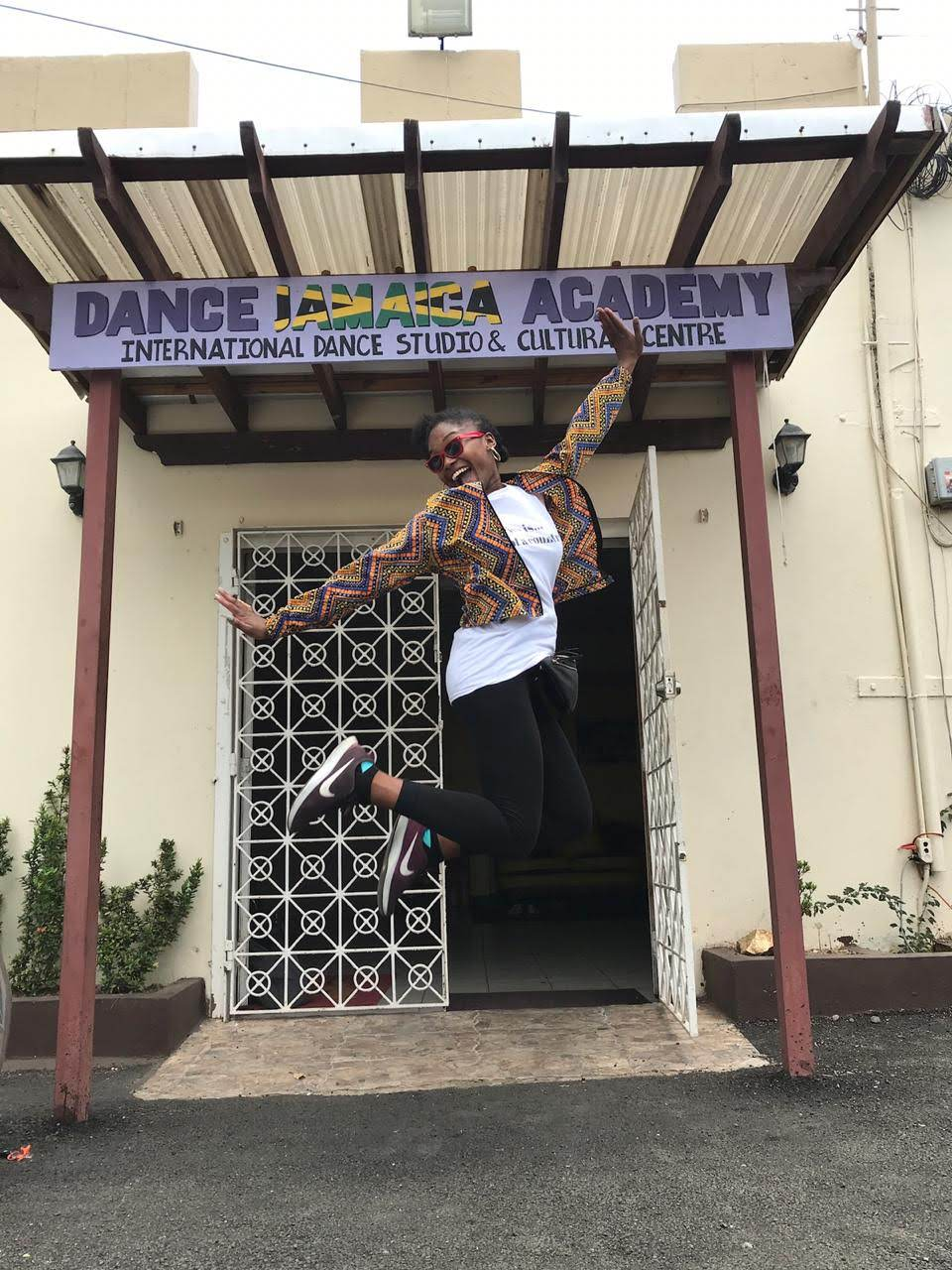 Teaching at Dance Jamaica Academy - July 2019