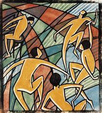 Music, Dorrit Black, 1928