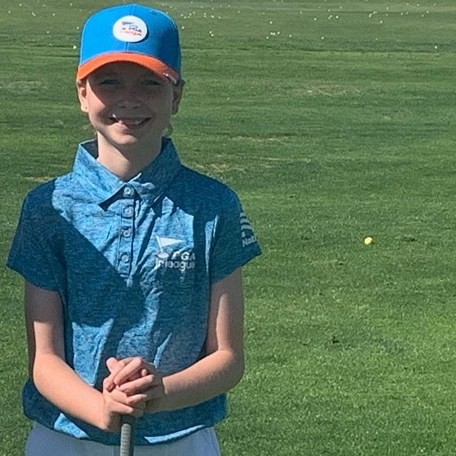 Thank you Mia for passing along your clubs to other junior golfers.  We really appreciate you passing along the passion of golf!  #givingback #loveforthegame #golf #golfcharity #charity #kidsgivingkids #golflovers #golfclubs #vegas #pga #thankful #growingthegame #clubitforward #mizaranorton #milannorton