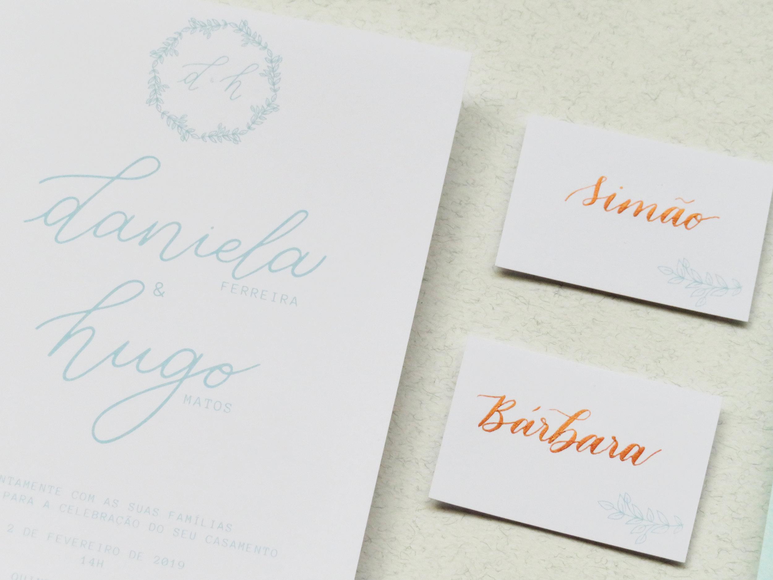 Storytime Calligraphy & Design Marcadores de Lugar
