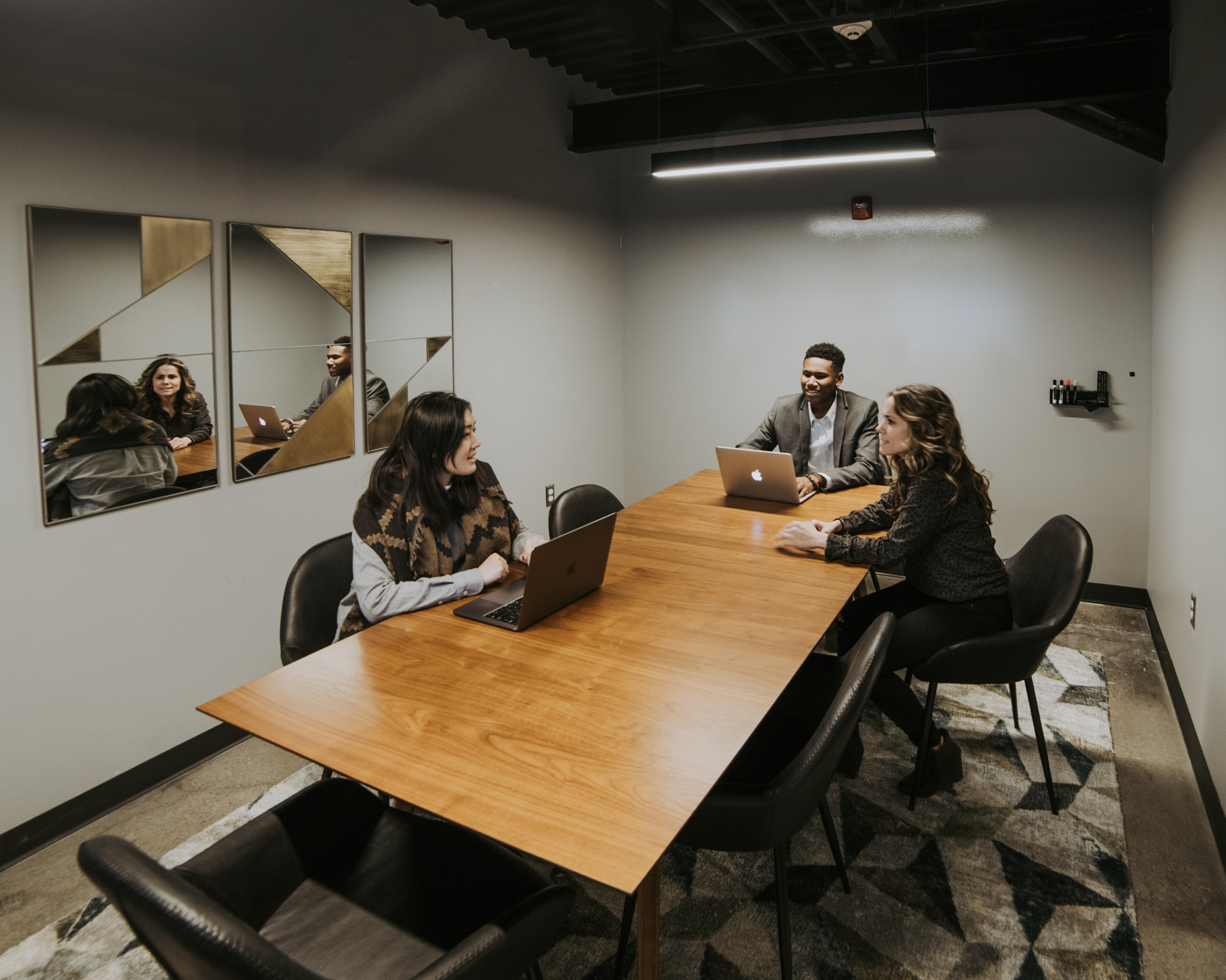 Ensemble ($15/hour) -  Private 6-person conference room