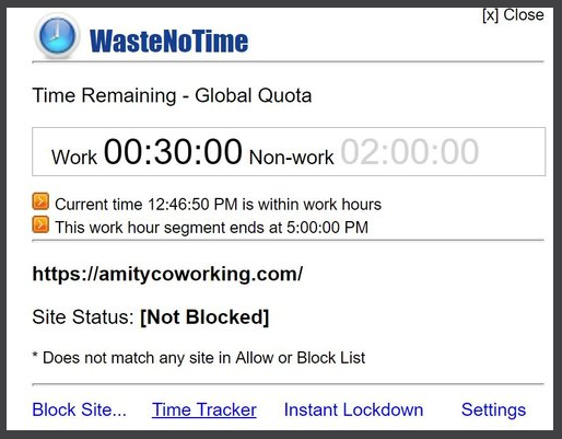 Using tools like WasteNoTime can help pinpoint your sources of busy work.