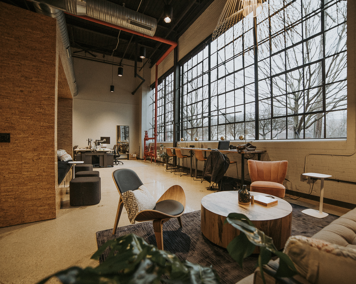 Purposefully designed spaces allow engagement with work and communities.