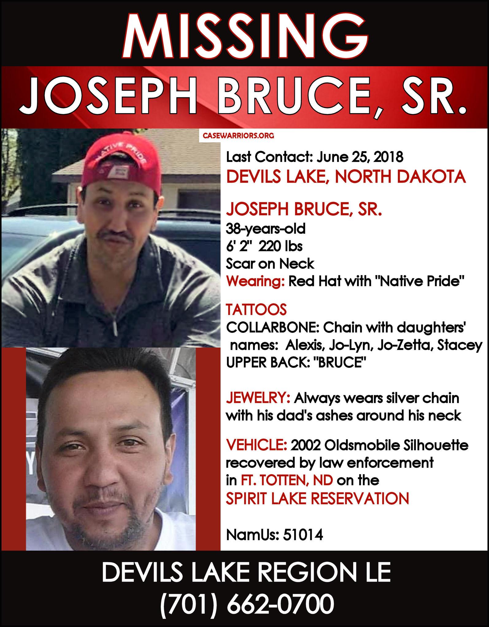 JOSEPH BRUCE, SR.