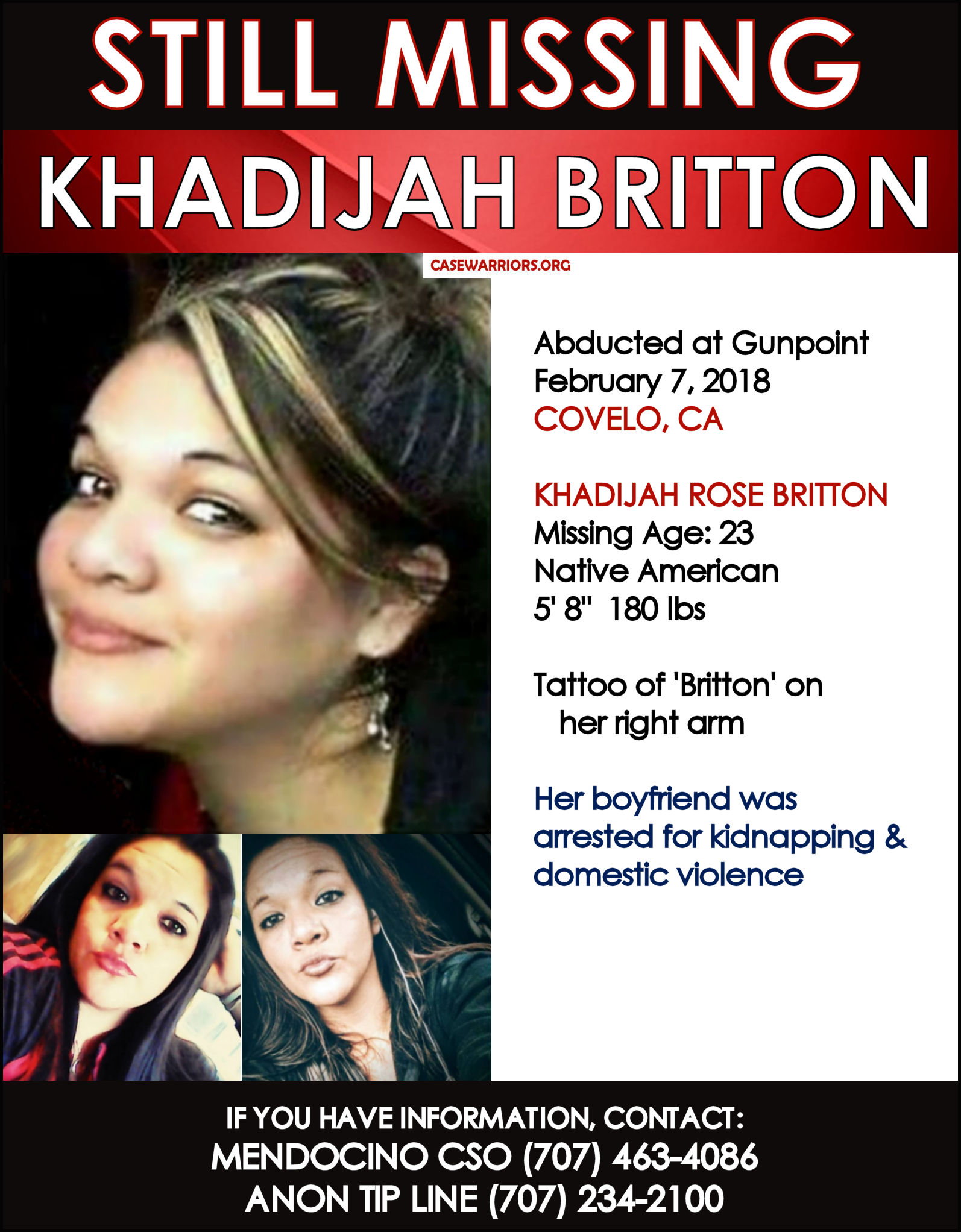 KHADIJAH BRITTON