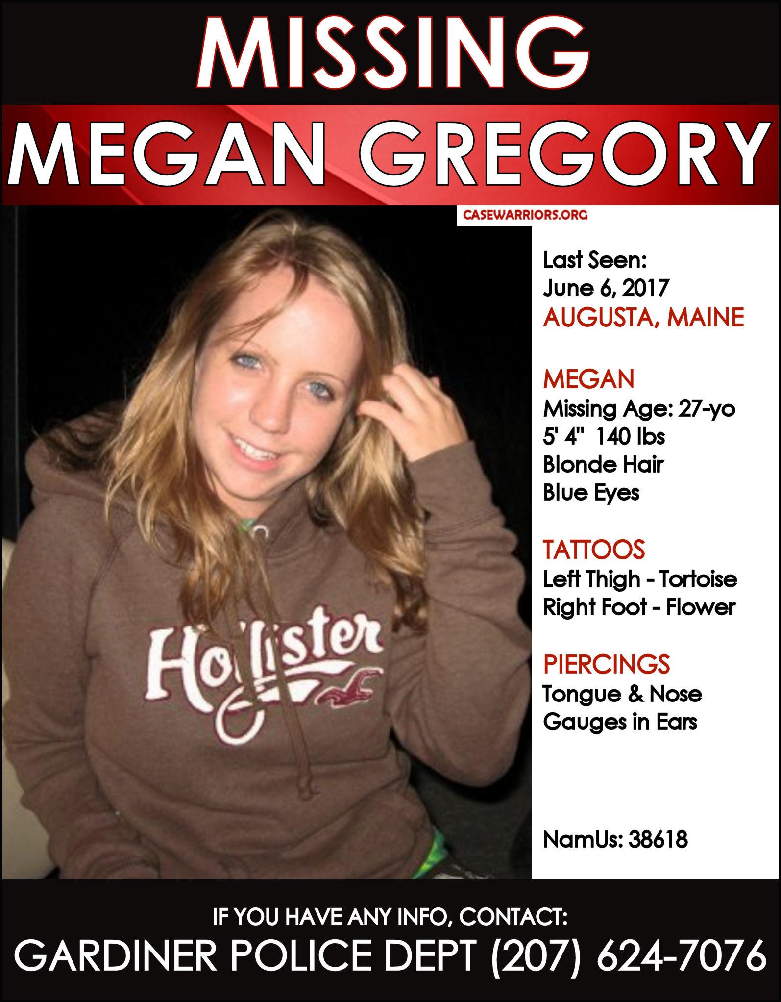 MEGAN GREGORY