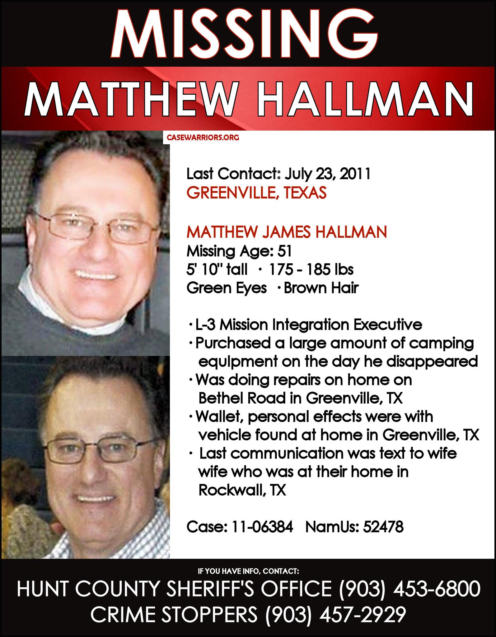 MATTHEW HALLMAN