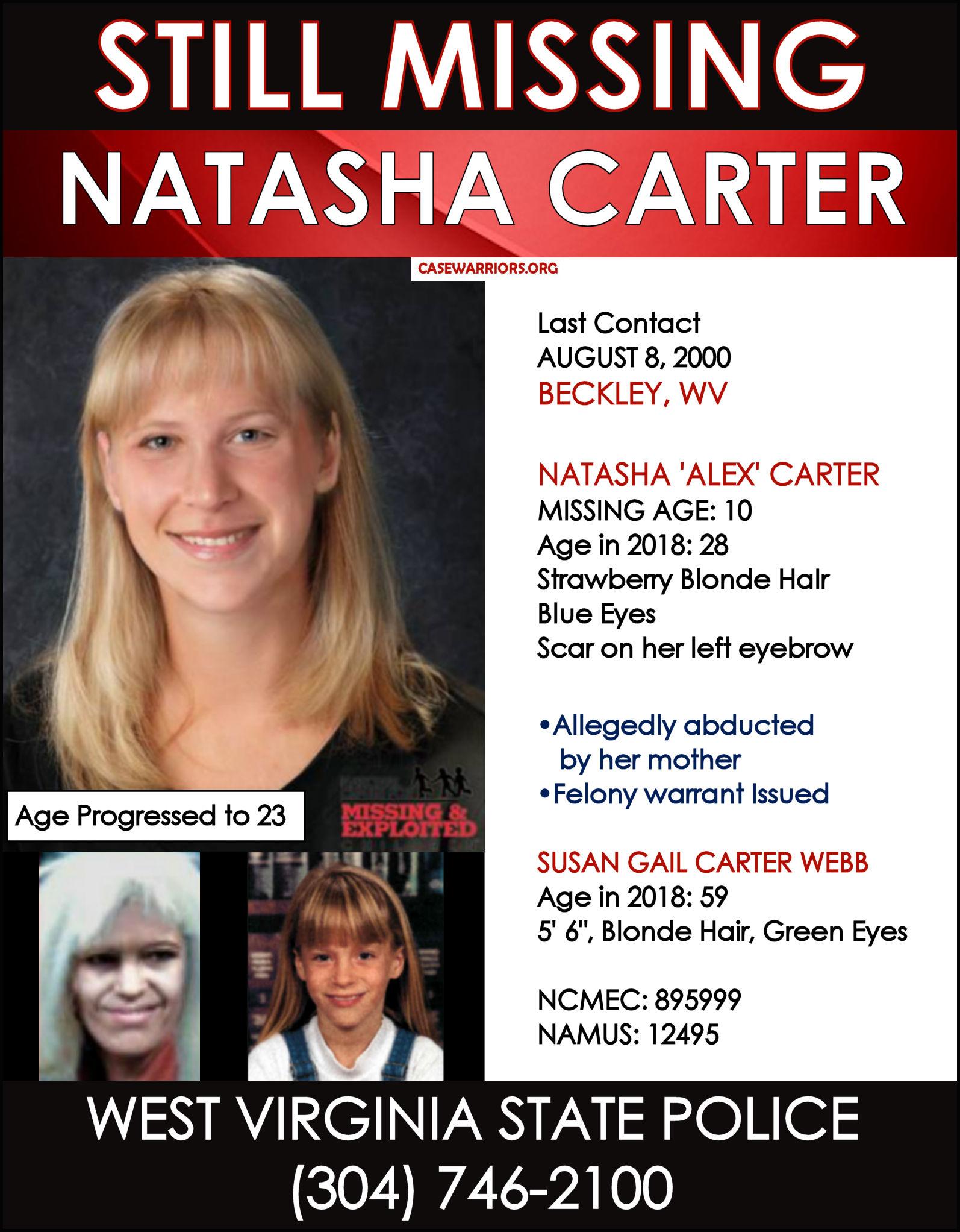 NATASHA CARTER