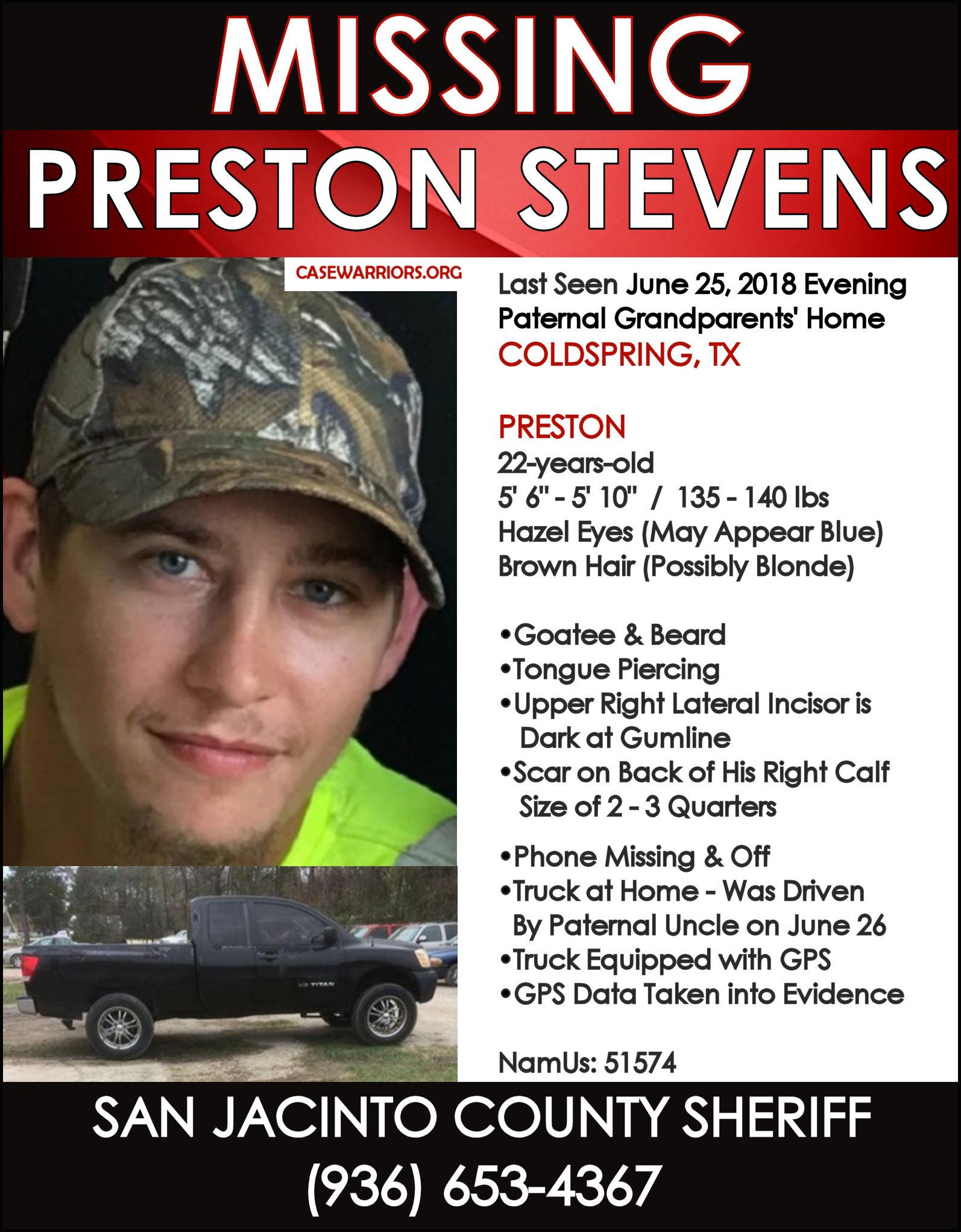PRESTON STEVENS