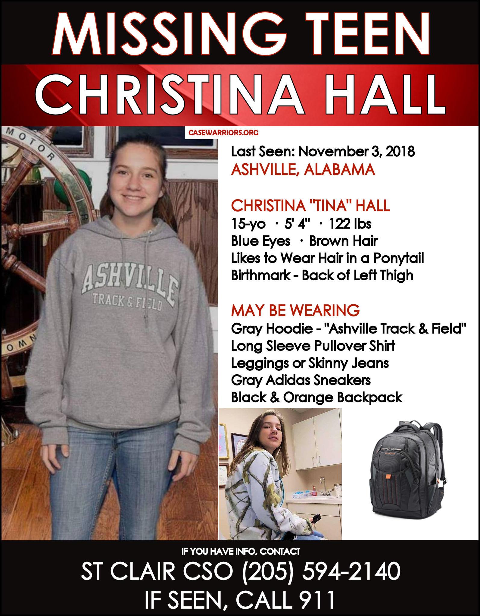 CHRISTINA HALL