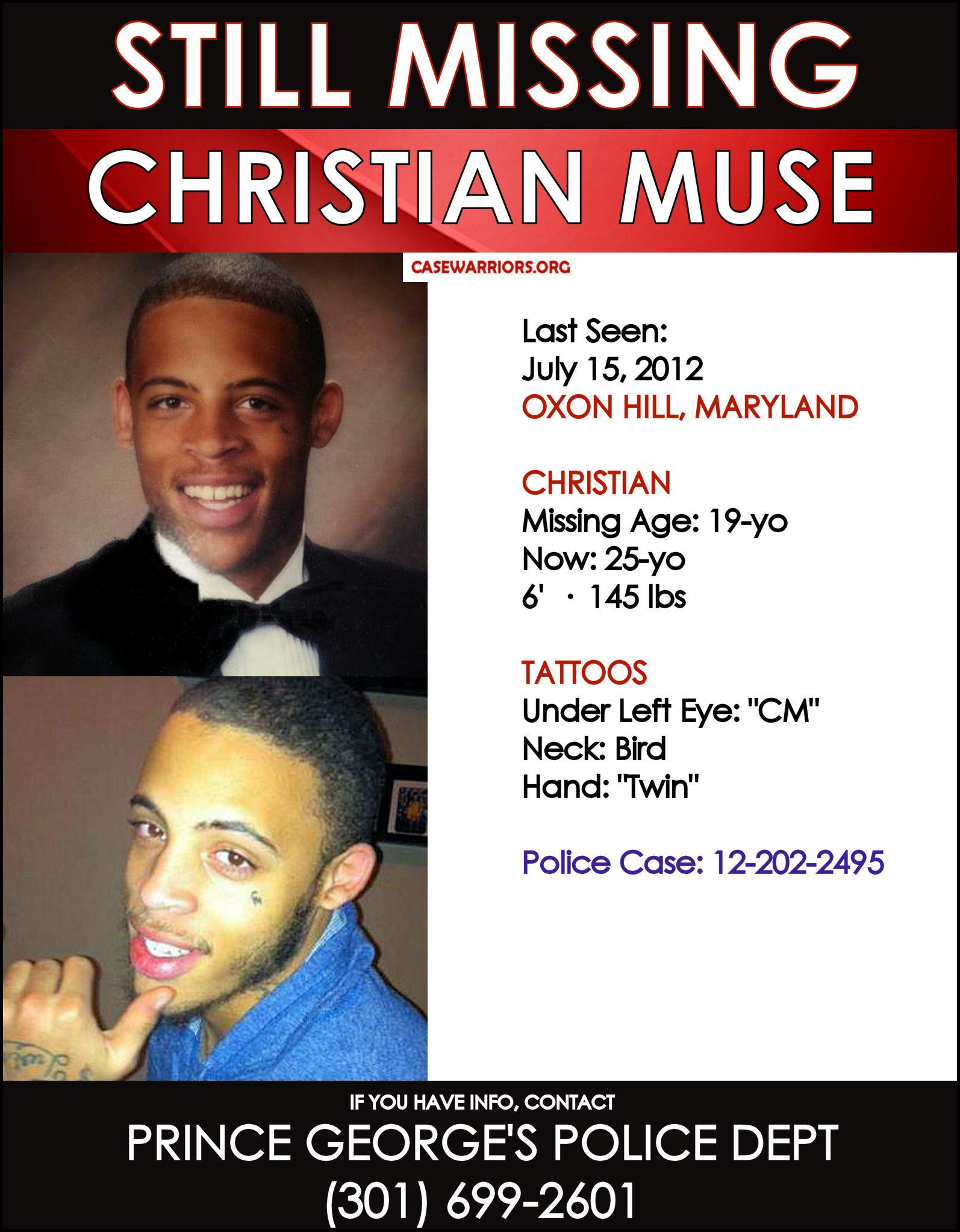 CHRISTIAN MUSE