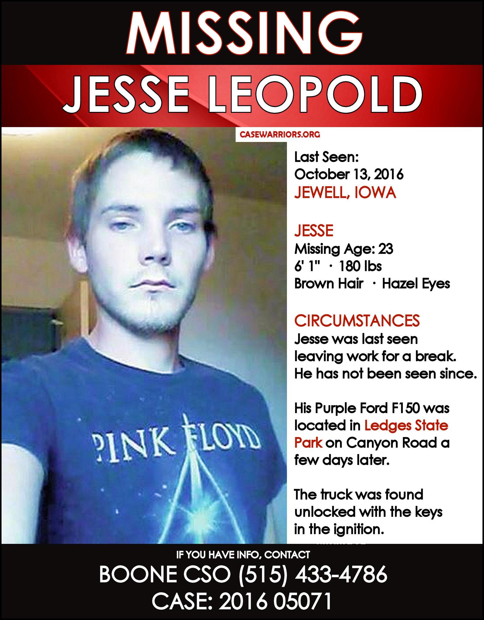 JESSE LEOPOLD