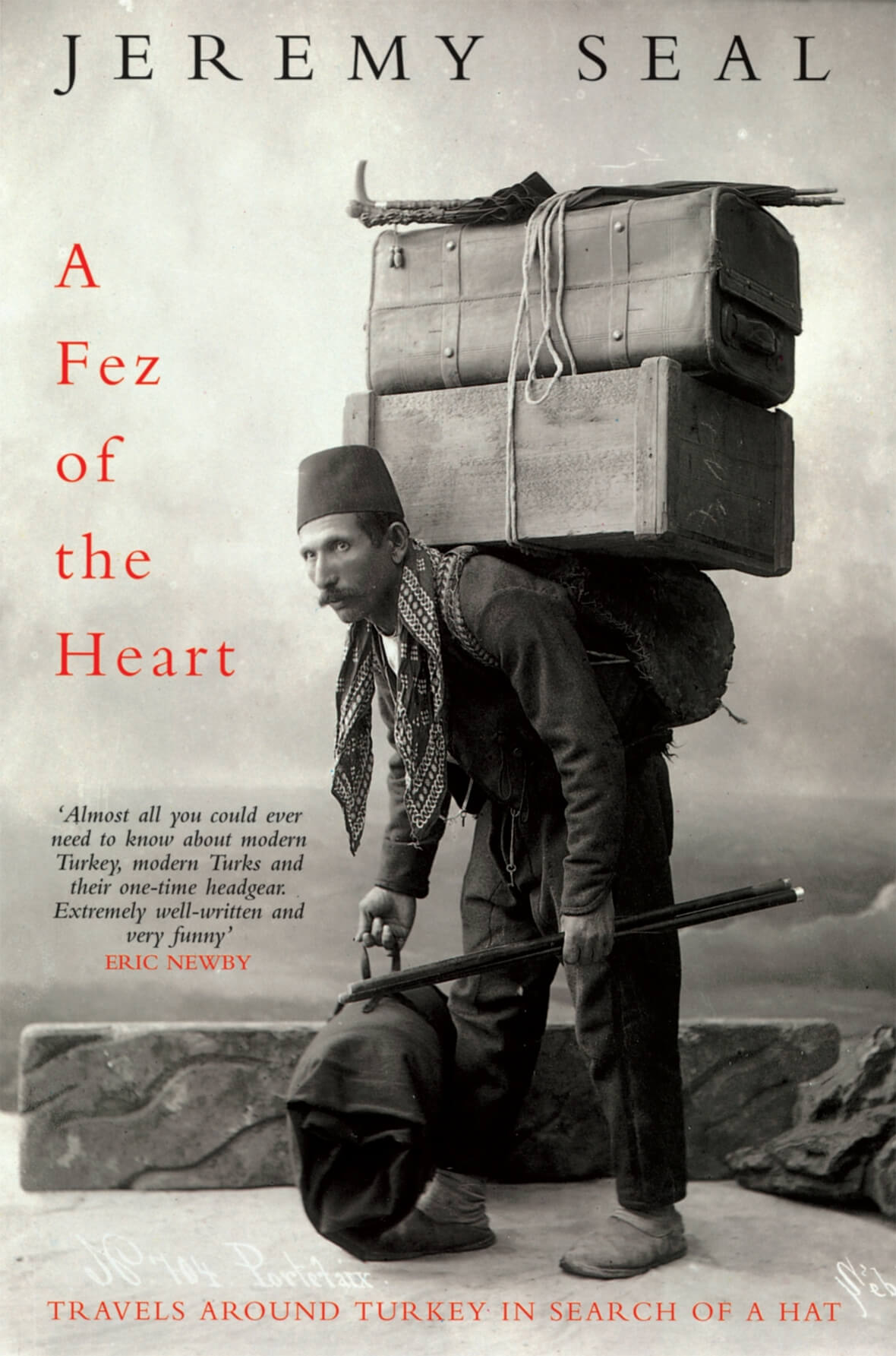 Book Cover, A Fez of the Heart