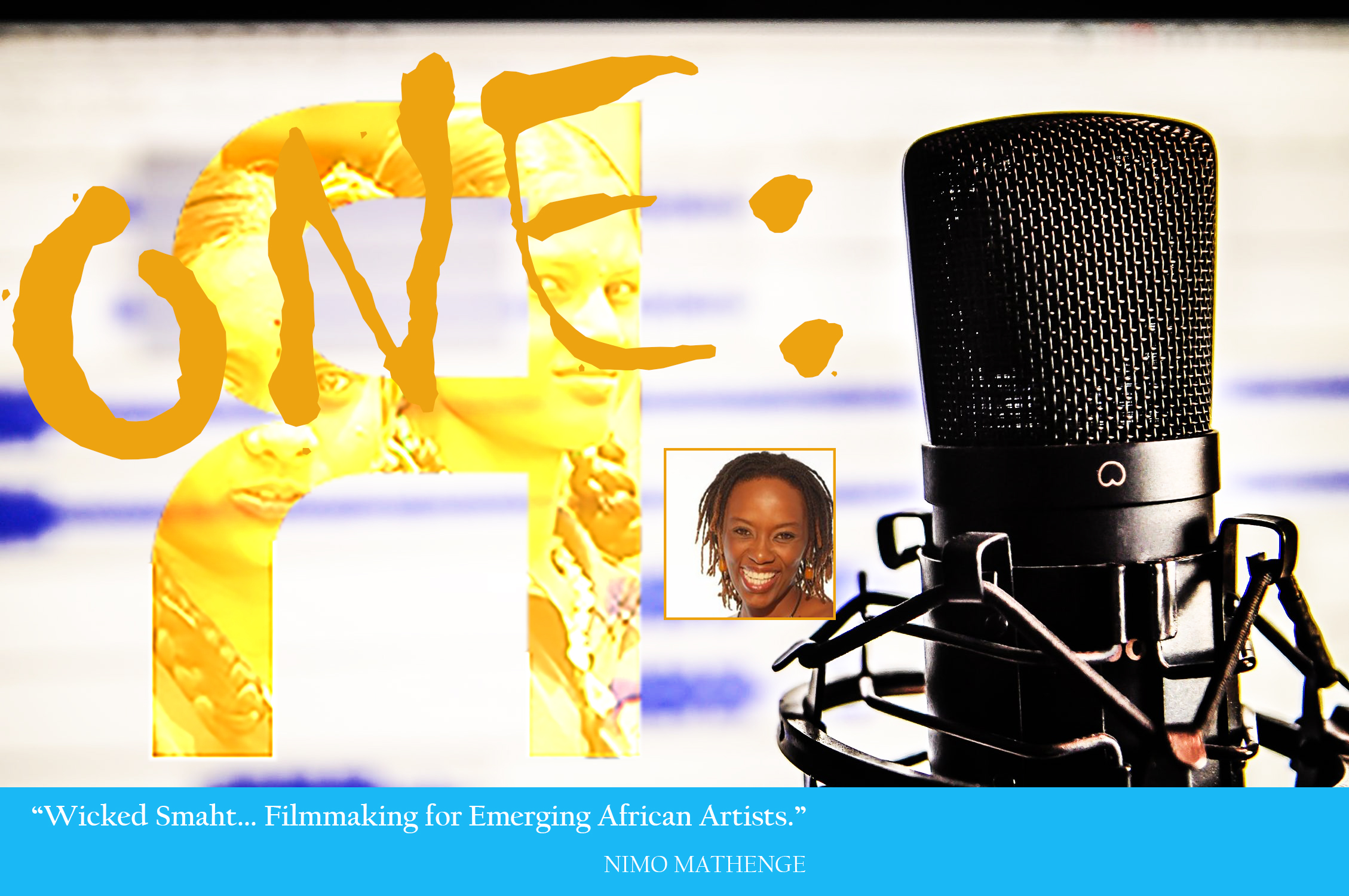 """- """"Wicked Smaht... Filmmaking for Emerging African Artists.""""Filmmaker and Executive Producer shares her dreams and mission to elevate African artists in independent film. Hear about her journey and the projects she has worked on. An inspiring woman who has beat the odds... and she's just getting started. Wicked Smaht... from Harvard."""